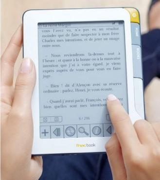 Le FnacBook, la liseuse électronique de la Fnac.