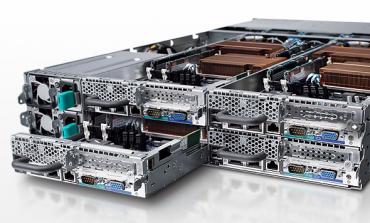 Dell PowerEdge C6105, 4 noeuds autonomes par châssis.