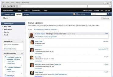IBM Lotus Connections 3.0 réseaux sociaux 'pro'