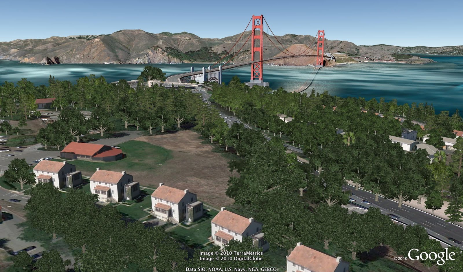 San Francisco - Google Earth 6