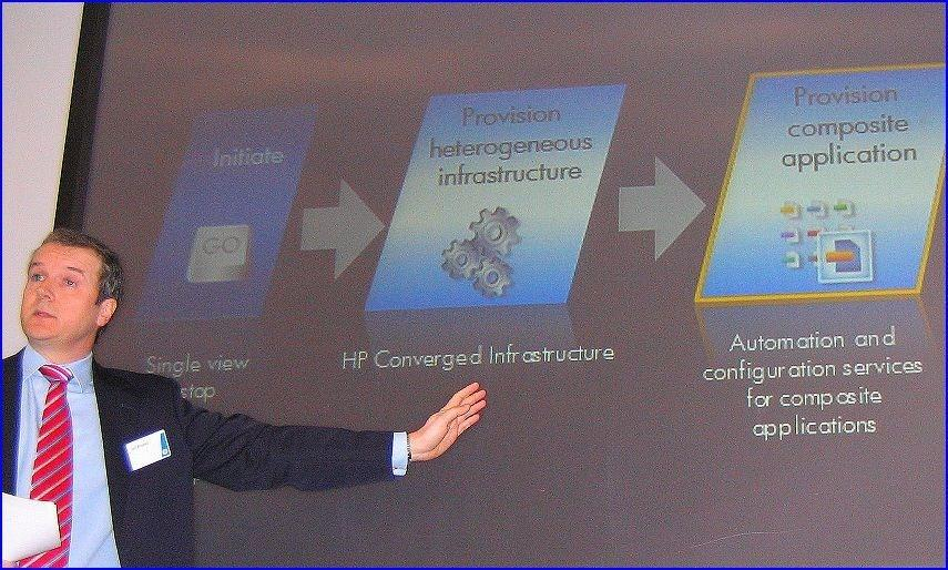 Ian Brooks, directeur marketing Cloud computing HP EMEA