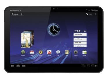 La Xoom, première tablette signée Motorola Mobility sous Android Honeycomb.