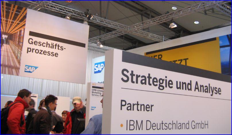 SAP stand CeBIT_2011_2