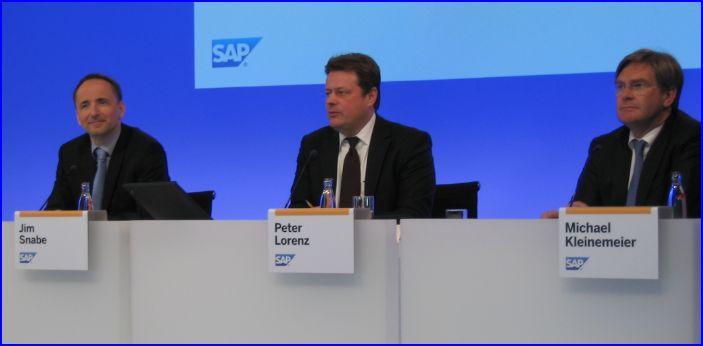 SAP_conference presse CeBIT 2011