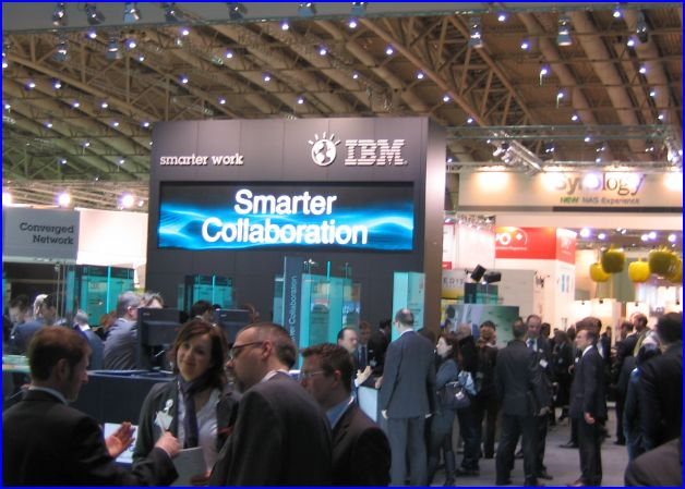 Vue stand IBM CeBIT 2011