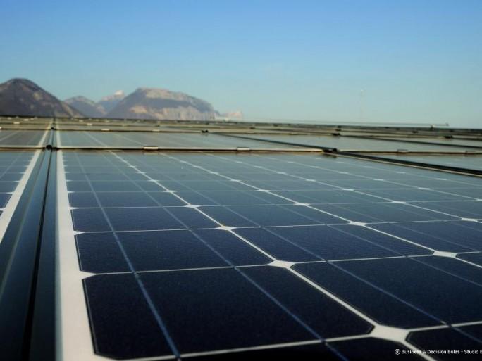 Datacenter EOLAS Grenoble, energie solaire voltaïque