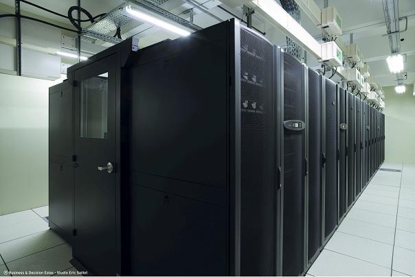 Datacenter EOLAS Grenoble, la salle blanche