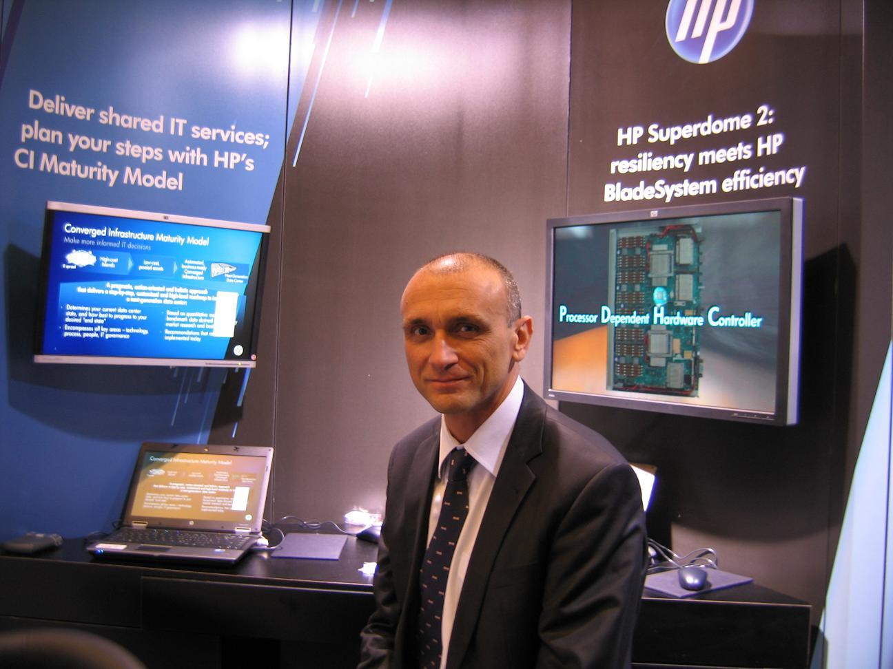 Frédéric Dussart, senior vice president  HP ESSN,  EMEA