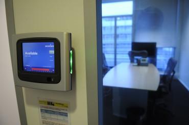 Accenture - boitier reservation salle de réunion