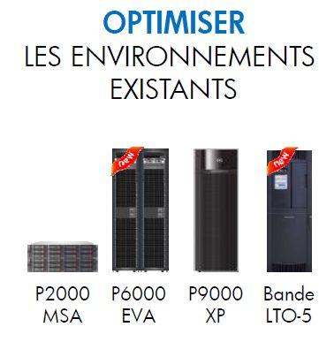 Offre stockage HP P6000 EVA, optimiser l'existant