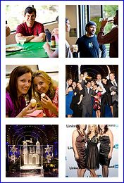 LinkedIn social networking photos