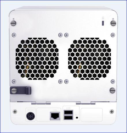 Synology_serveur NAS DiskStation DS411 connecteurs