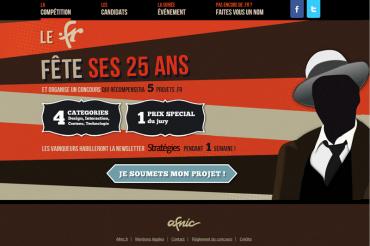 L'Afnic organise un concours pour les 25 ans du .fr