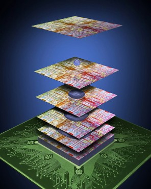 3M et IBM mettent au point une «colle» permettant d'empiller les coeurs de processeurs