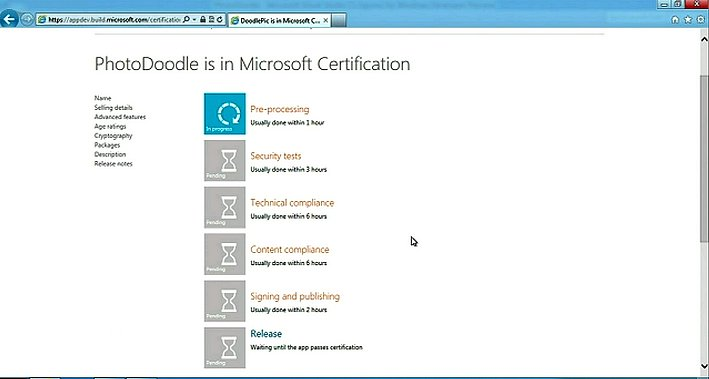 Microsoft BUILD 2011 StoreCertification