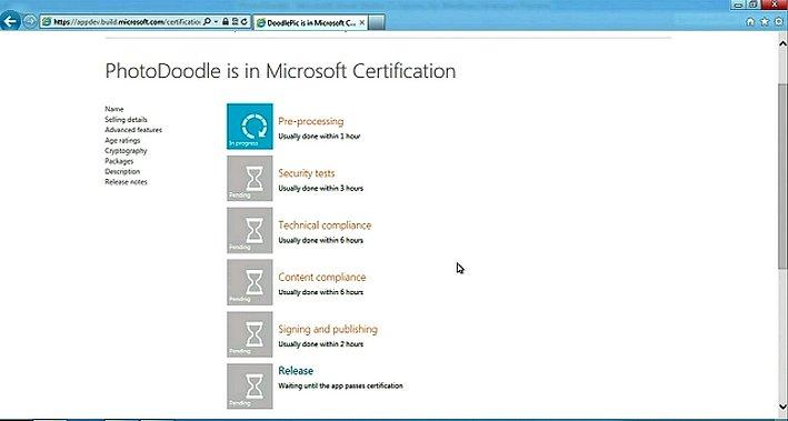 Microsoft BUILD 2011 StoreCertification
