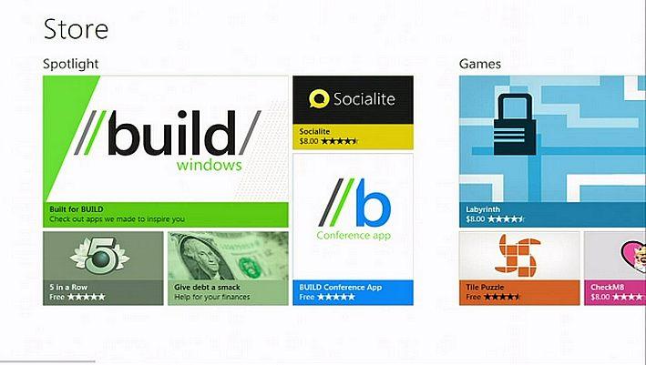 Microsoft BUILD 2011 WindowsStore