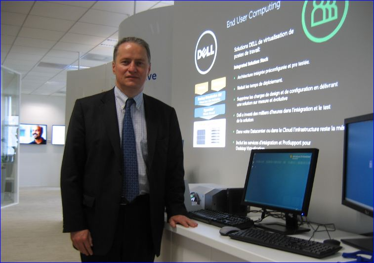 Dell, centre de solutions, inauguration, Thierry Petit oct.2011