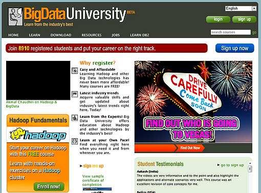 L'université Big Data ouvre ses portes en ligne