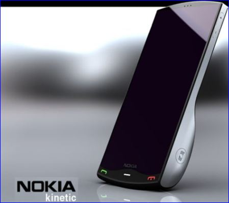Nokia Kinetic, smartphone flexible