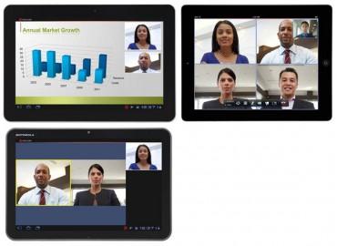 Polycom RealPresence pour tablettes Samsung, Motorola, iPad