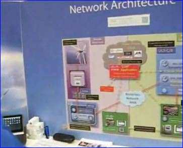 Cisco Live 2012 Londres_demo 'network architecture'
