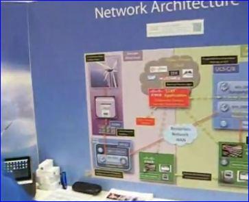 Cisco Live 2012 Londres_demo 'network architecture'
