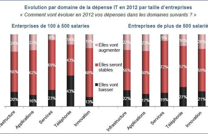 Etude dépenses IT France 2012_fig 1
