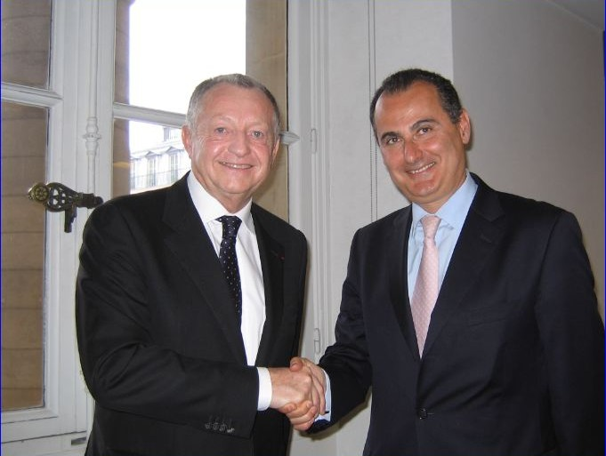 Accord IBM Cegid Jean-Michel Aulas et Alain Benichou