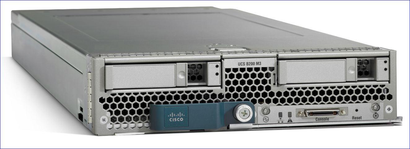 Cisco UCS 3G, le B200 M3