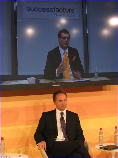 SAP Jim Hagemann Snabe, co CEO, et Lars Dalgaard, Success Factors CEO_