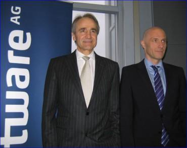 Software AG, Karl-Heinz Streibich, CEO, et Wolfram Jost, CTO