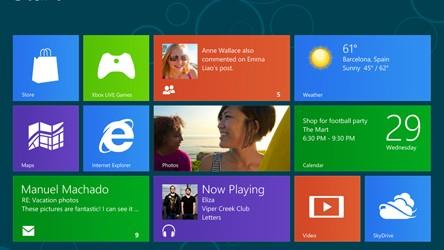 Windows 8 © Microsoft