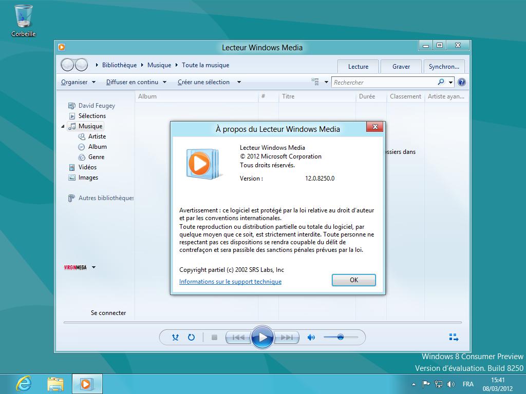 Windows 8 le bureau classique en images silicon for Bureau windows 8