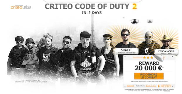 Criteo Code Of Duty