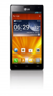 Le LG Optimus 4X HD privilégie l'Europe