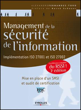 Livre : Management de la sécurité de l'information