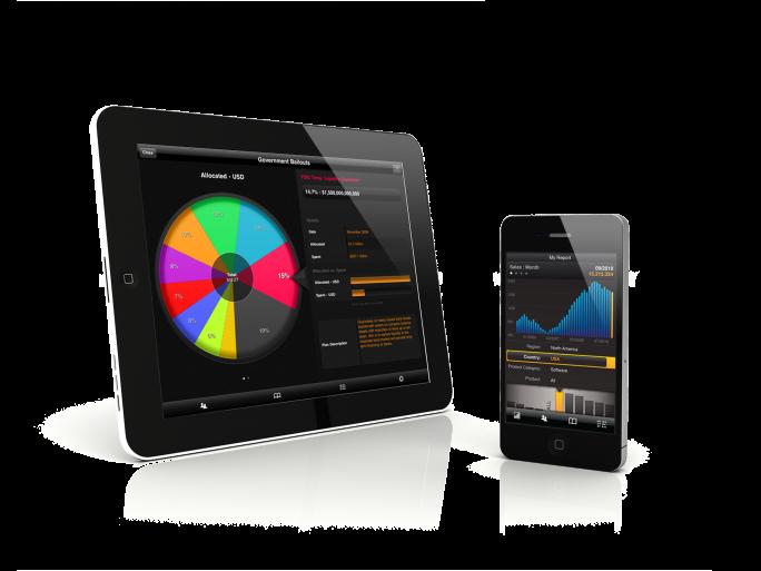 Roambi pour iPad et iPhone