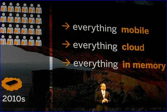 Sapphire 2012 la strategie SAP
