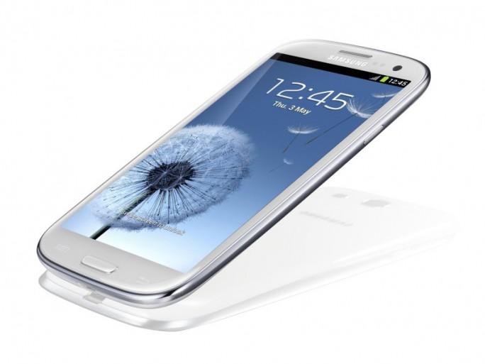 Le Samsung Galxy S 3 apporte un confort de vision avec son écran 4,8 pouces