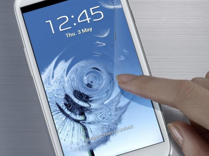 Ecran capacitif du Galaxy S 3
