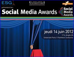 Social Media Awards, Paris Sorbonne