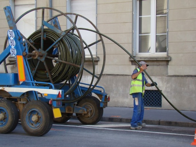 déployer la fibre optique en France