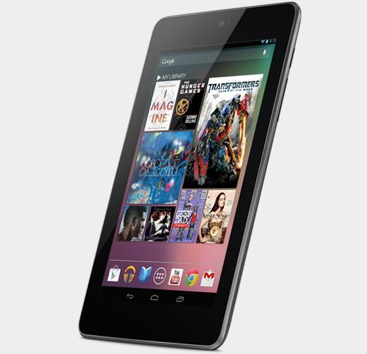 La tablette Nexus 7 de Google est fabriquée par Asus