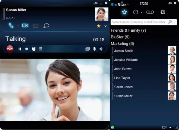 Aastra BluStar for PC vidéocommunication