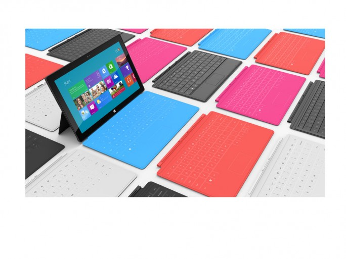 Microsoft propose d'office un clavier à sa tablette Surface