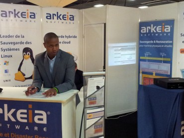 Solutions Linux 2012 - Arkeia © Silicon.fr