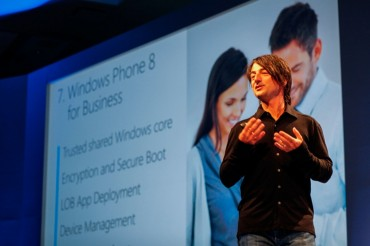 Joe Belfiore présente Windows Phone 8
