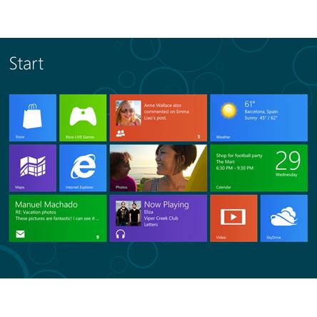 Dernière ligne droite pour Windows 8 et Windows Server 2012