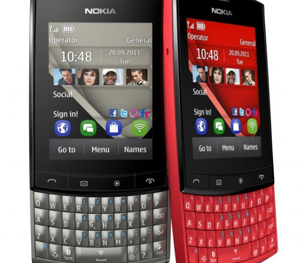 Nokia Asha 303 Microsoft Exchange